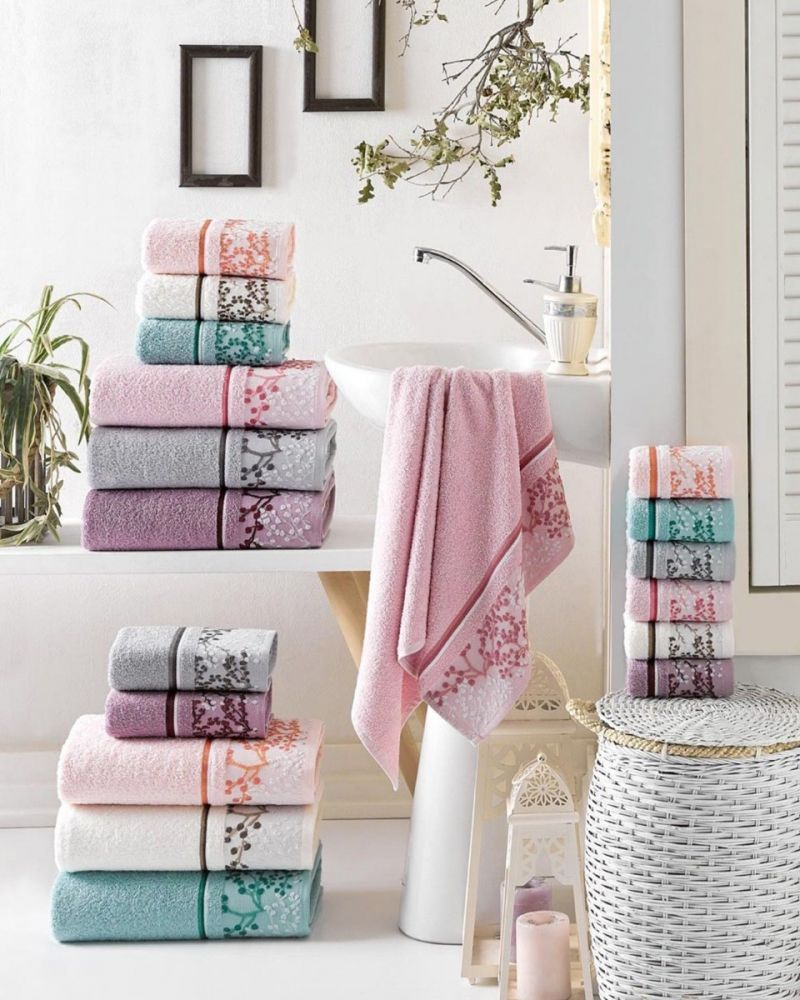 Cherry Blossom Turkish Cotton Towel