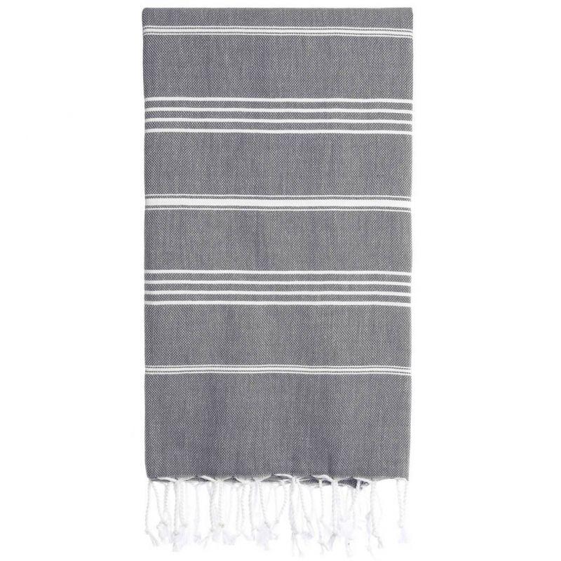 Lina Peshtemal Beach Towel-Fume