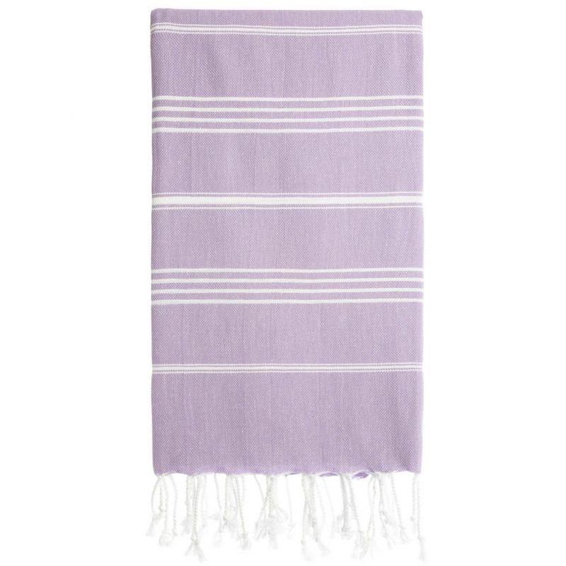 Lina Peshtemal Beach Towel-Lilac