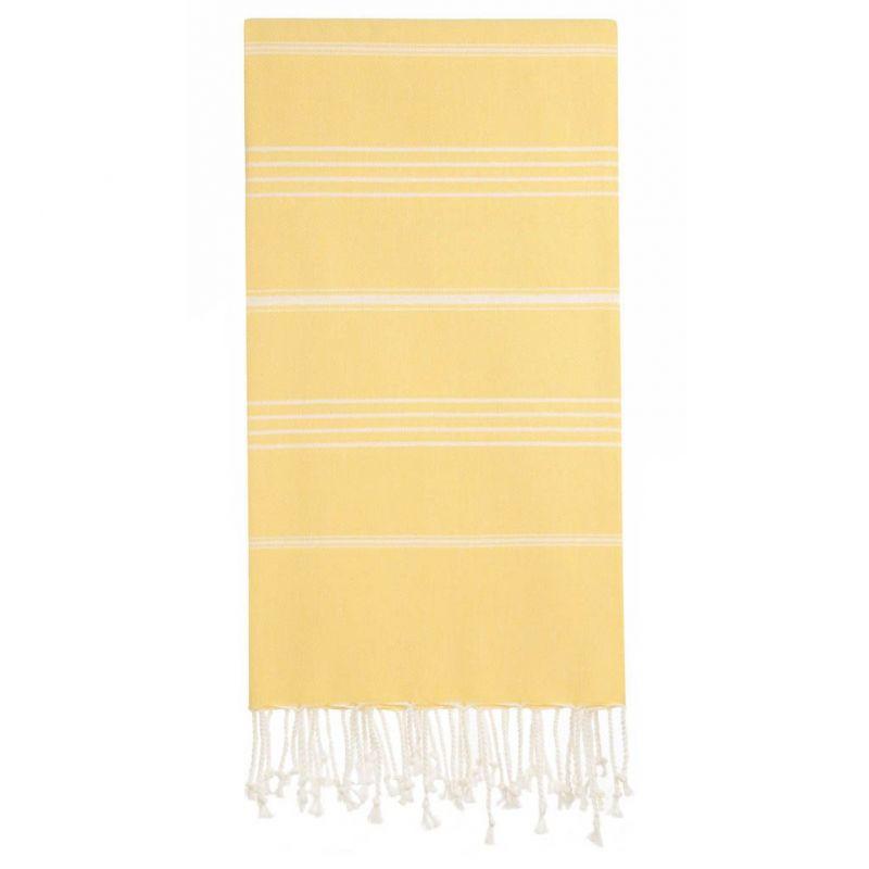 Lina Peshtemal Beach Towel-Yellow